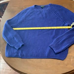 Women's Ralph Lauren Sweater XL